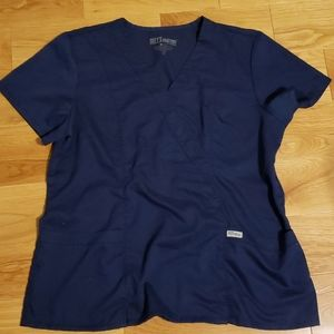 Gray's anatomy maybe scrub top size extra large